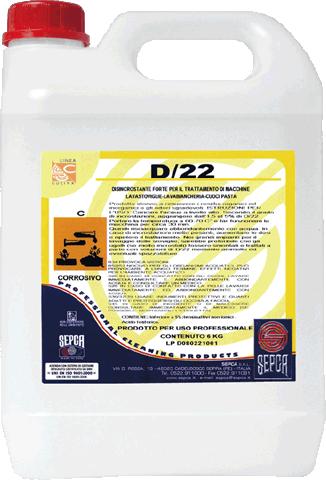 D/22 DISINCROSTANTE LT. 5