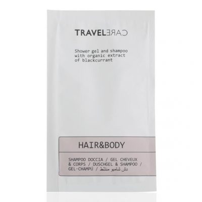SHAMPOO DOCCIA IN BUSTA TRAVEL CARE 10 ML