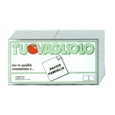 TOVAGLIOLI 33x33 BIANCO x  50 PEZZI